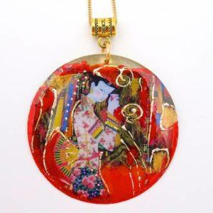 Pendentif artisanal japonais