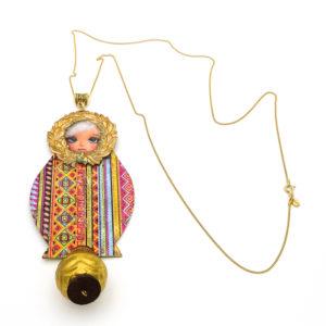 Pendentif poupée russe Matriochka
